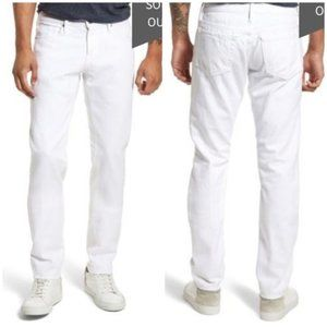 Frame NWT White L'Homme Slim Fit Mid Rise Size 30